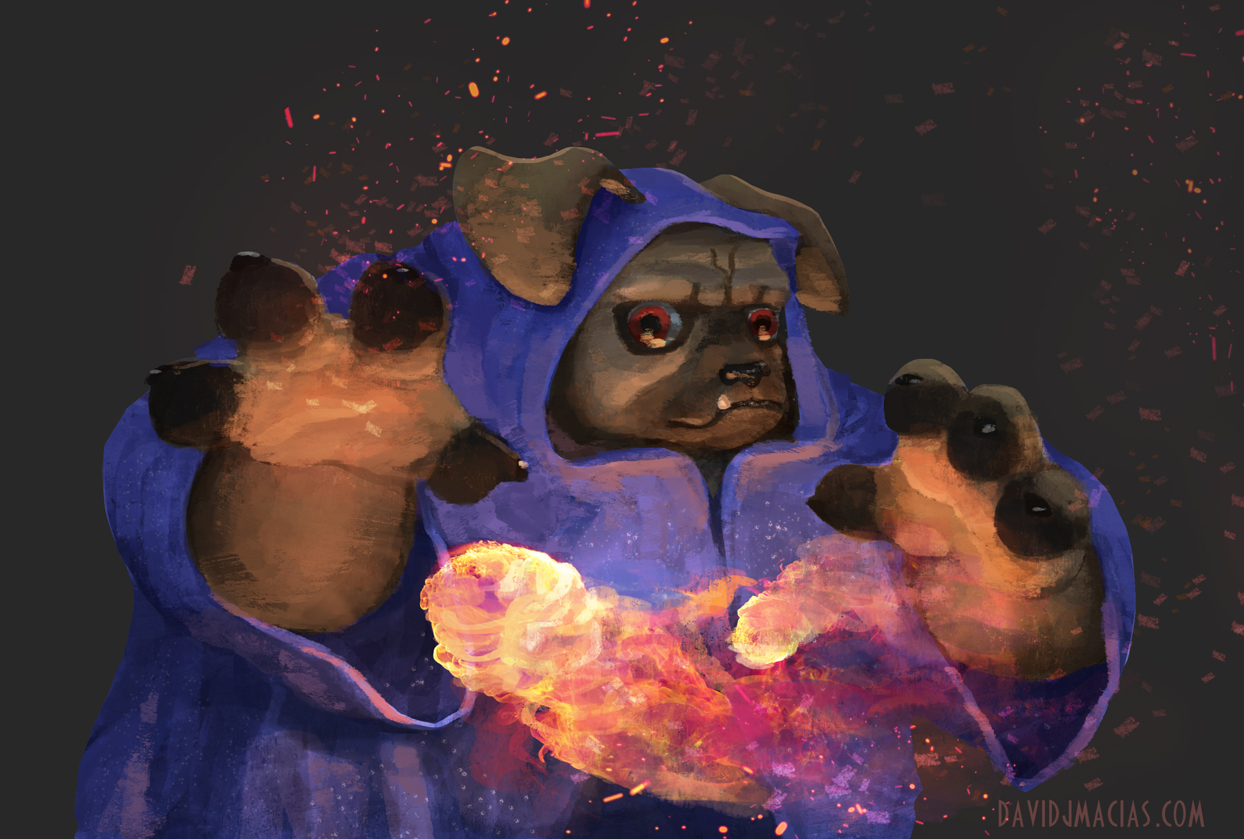Puggly Witch