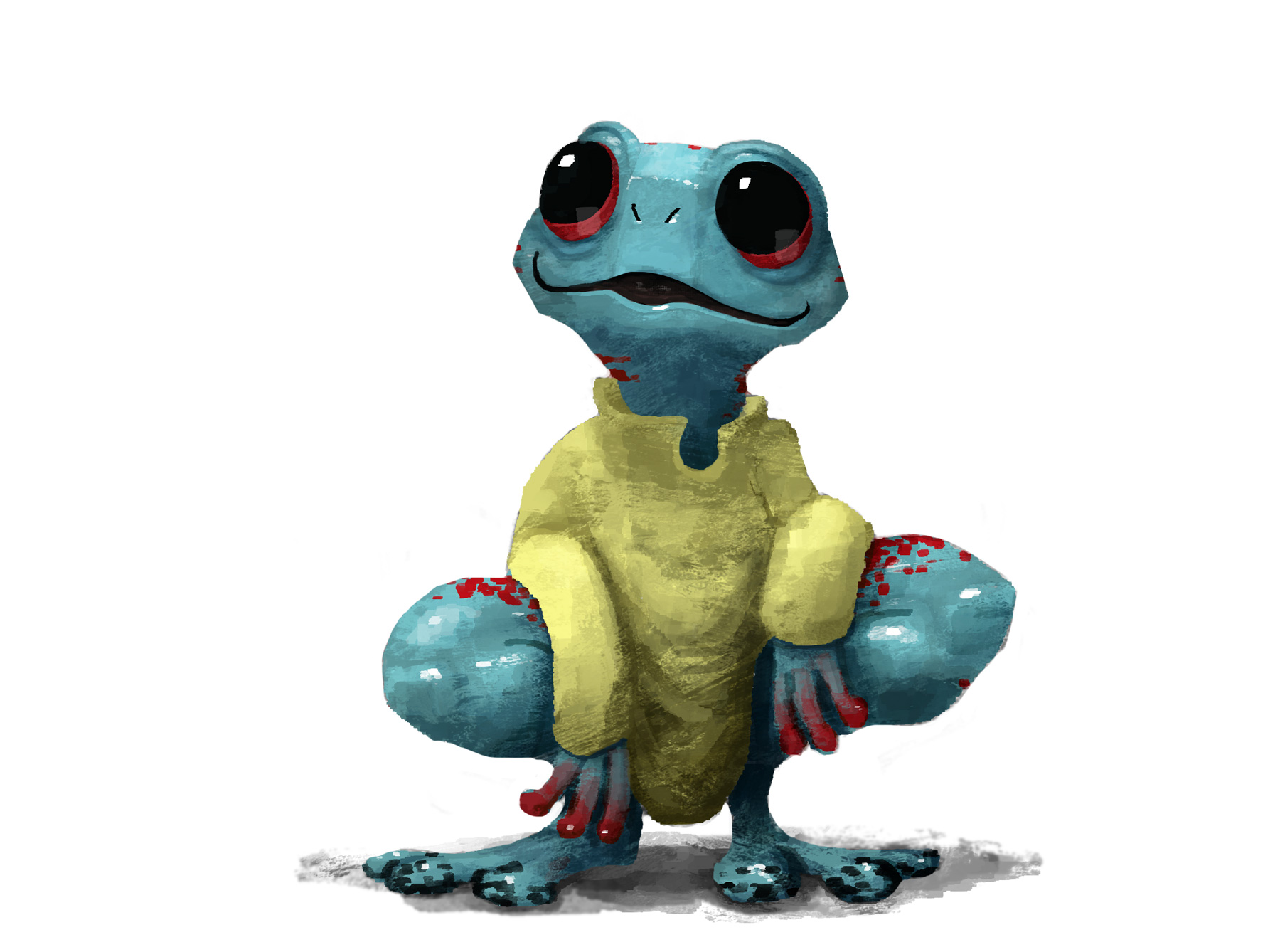 Blue Frog Barnaby