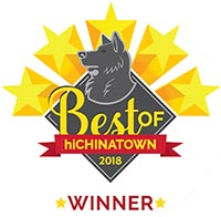 Brue Bar was voted as the    Best Coffee   in the    2018 Best of hiChinatown Awards