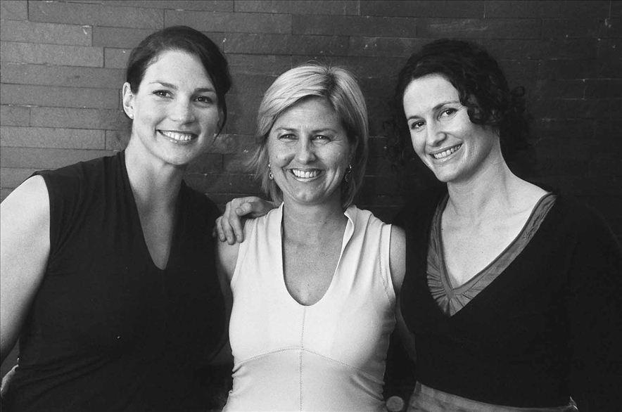 Ski Camp coaches:Erika McLeod, Fiona Stevens and Claudia Riegler