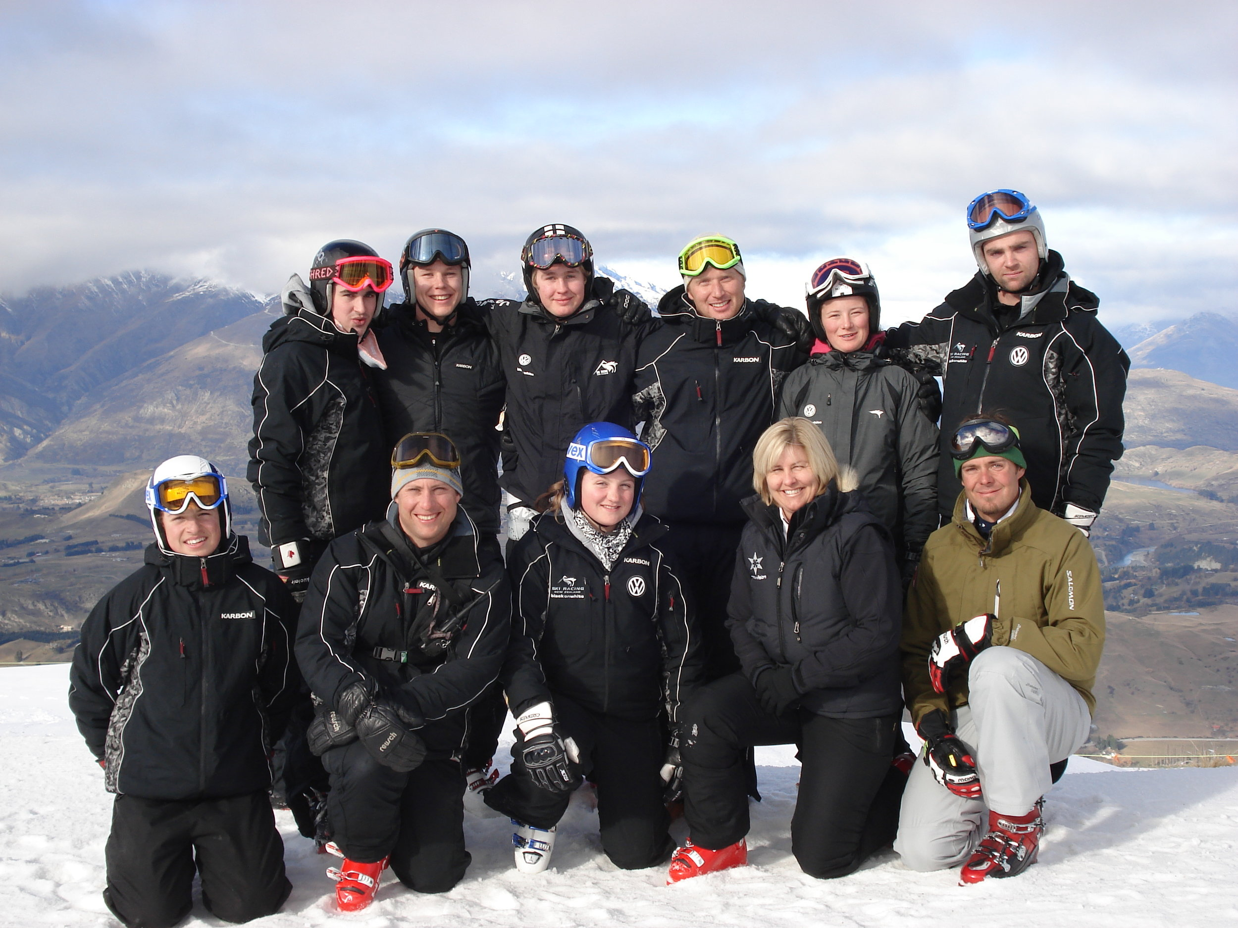Snowvision Seminar for the NZ National Ski Team with 2006 Winter Olympic Downhill Gold Medalist, Antoine Deneriaz.