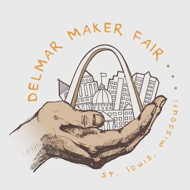 TODAY!! We are selling our signature lightweight frames (all $5), art prints, games, and more at the #delmarmakerfair from 10-6! We've been polishing the little camper and are ready to roll right across the street from MADE @ the Magic House    fingers crossed for sunshine and happy faces like yours throughout the day!! Food trucks and music    come discover this special STL corner of creativity! 🌈✨