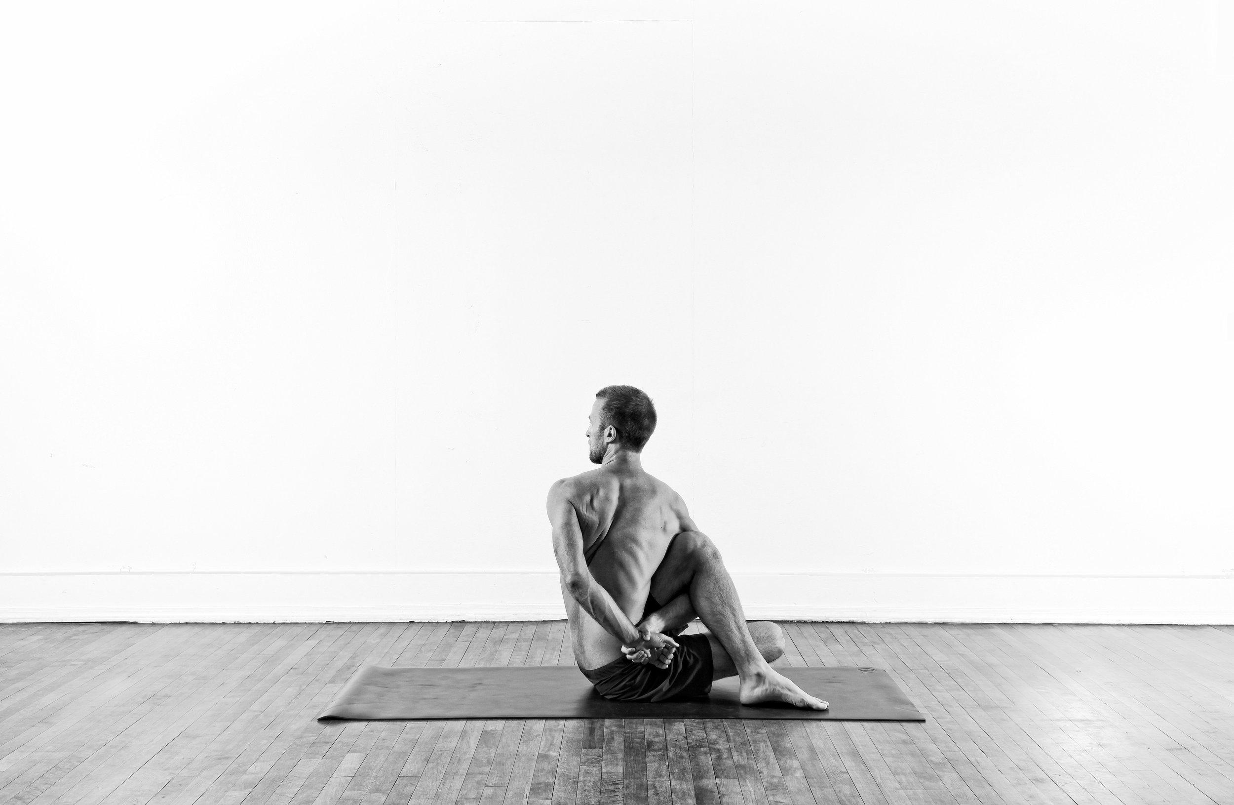 Seated Twist / Ardha Matsyendrasana