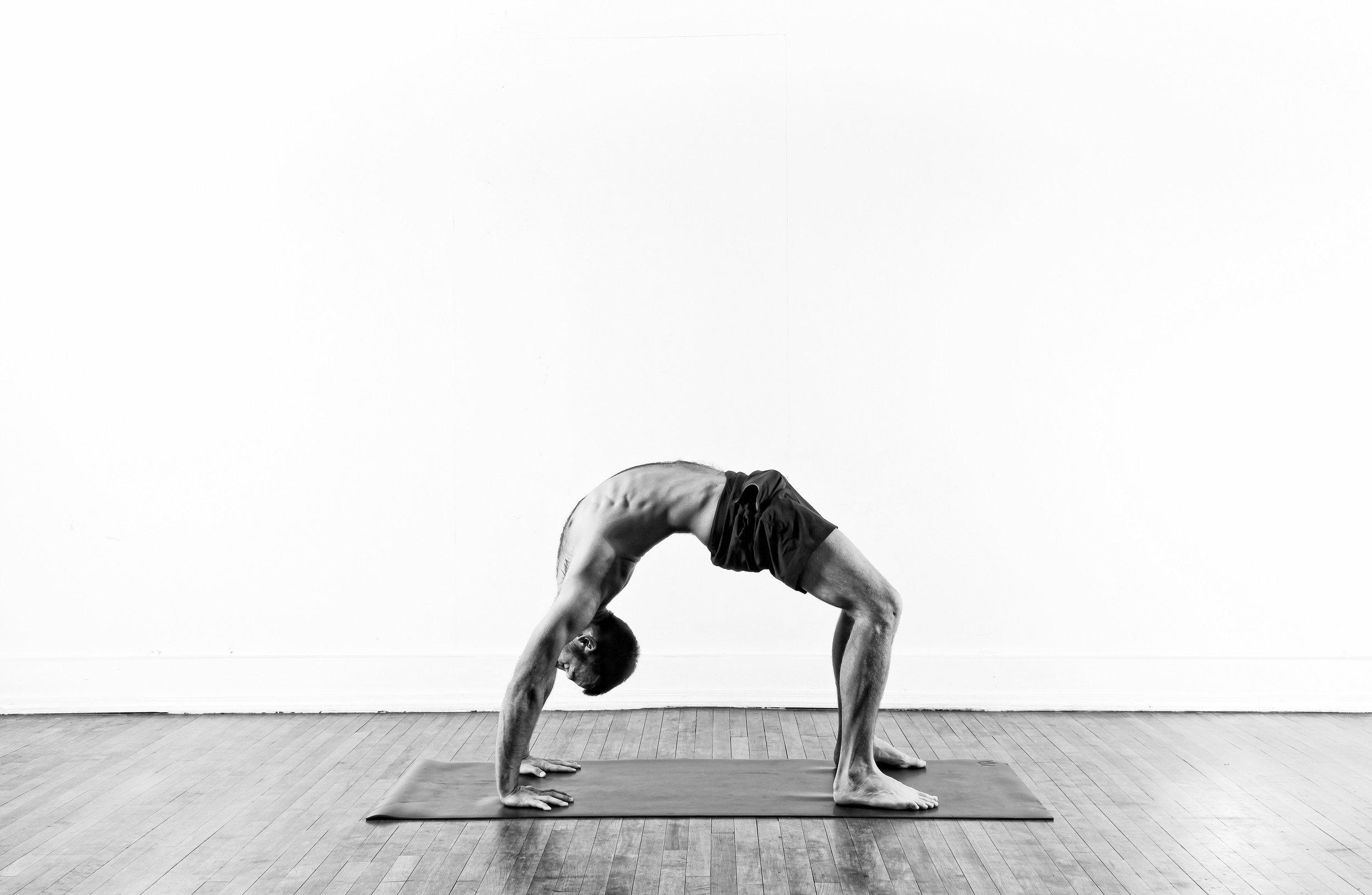 Upward Bow / Urdhva Dhanurasana