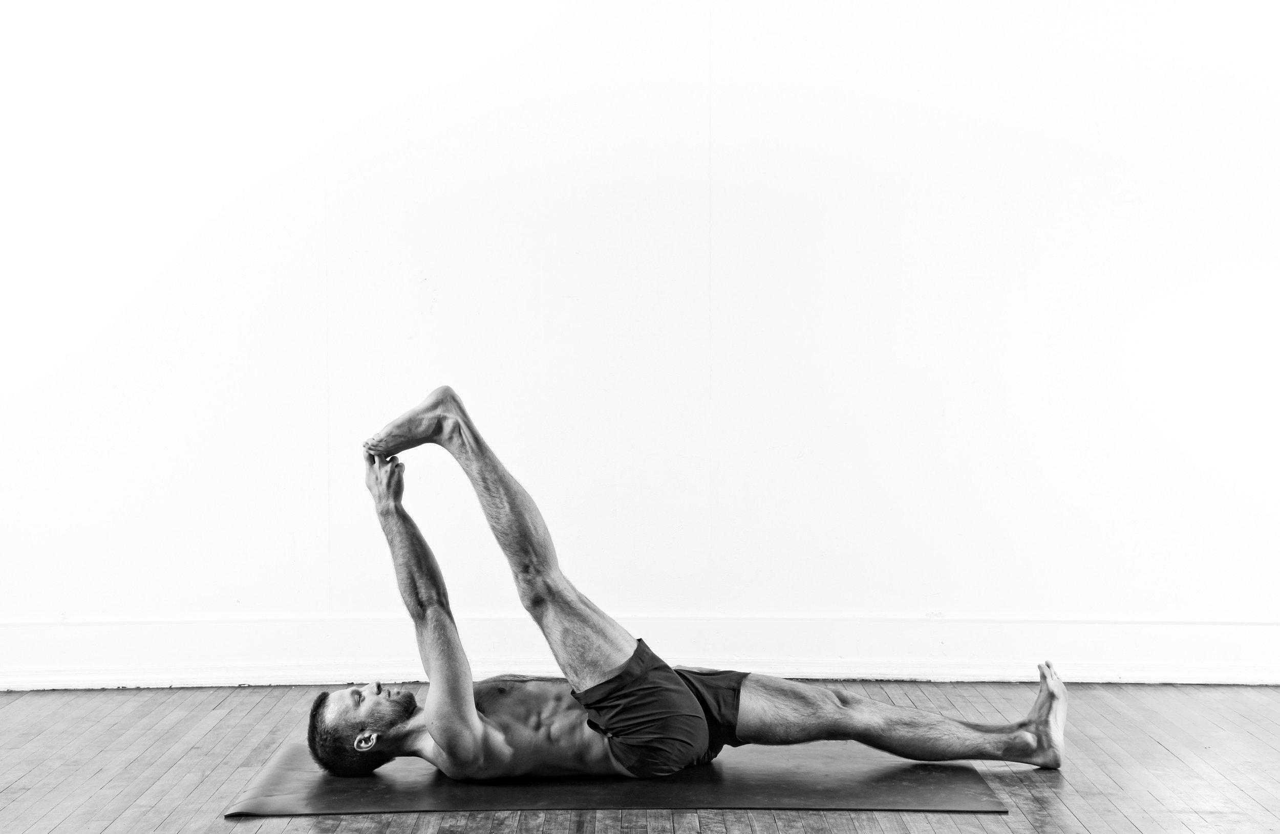 Reclining Big Toe Hold / Supta Padangusthasana