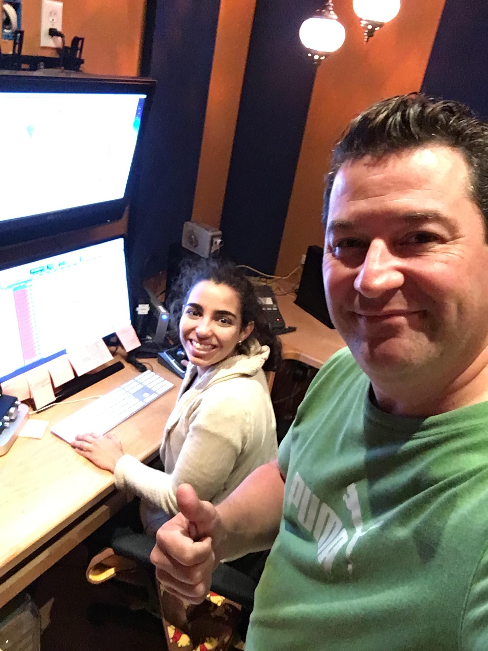 Assistant engineer Anakarolina Abreu