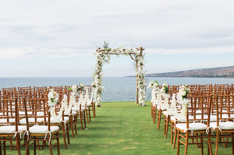 Photo  Sea Light Studios  | Wedding Structure and Design  Bliss in Bloom