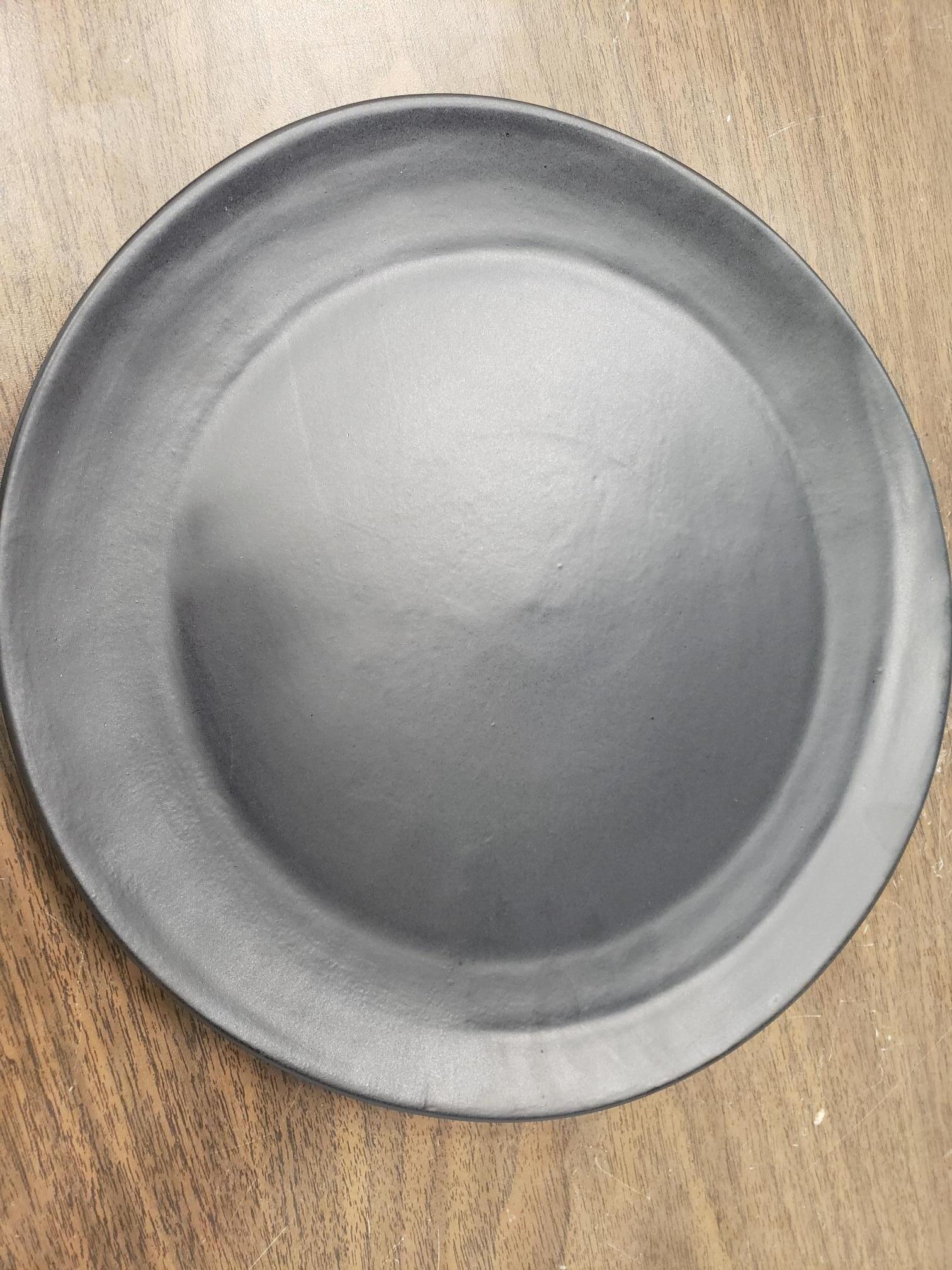 Black Matte Charger