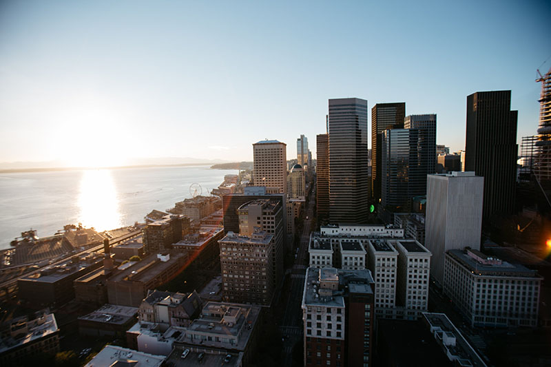 Smith Tower View