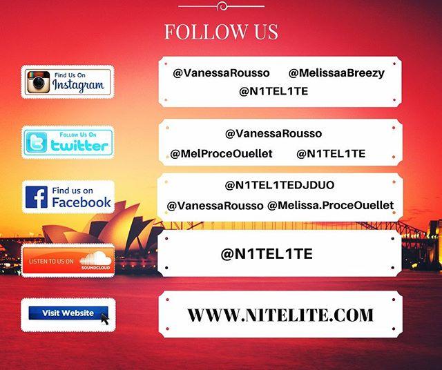 #followus #producers #music #n1tel1te #dj #twitter #facebook #soundcloud #website
