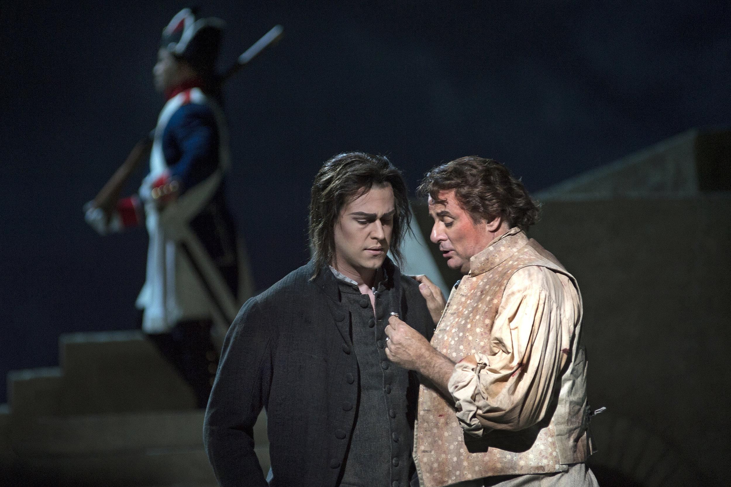 Tosca - Cincinnati Opera © Philip Groshong