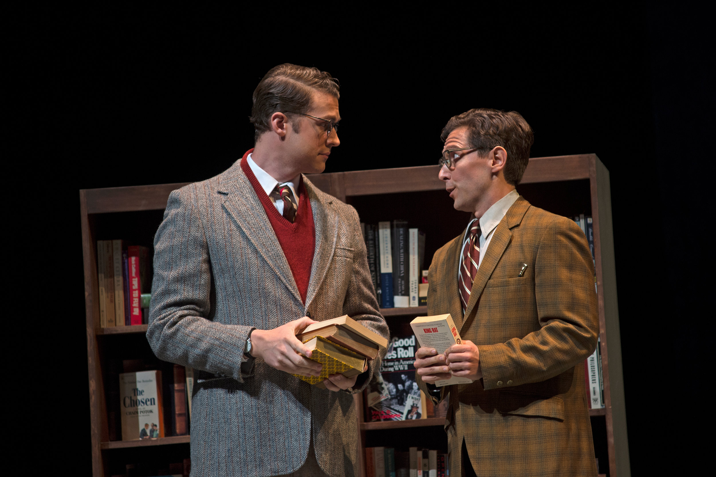 Fellow Travelers - Cincinnati Opera © Philip Groshong