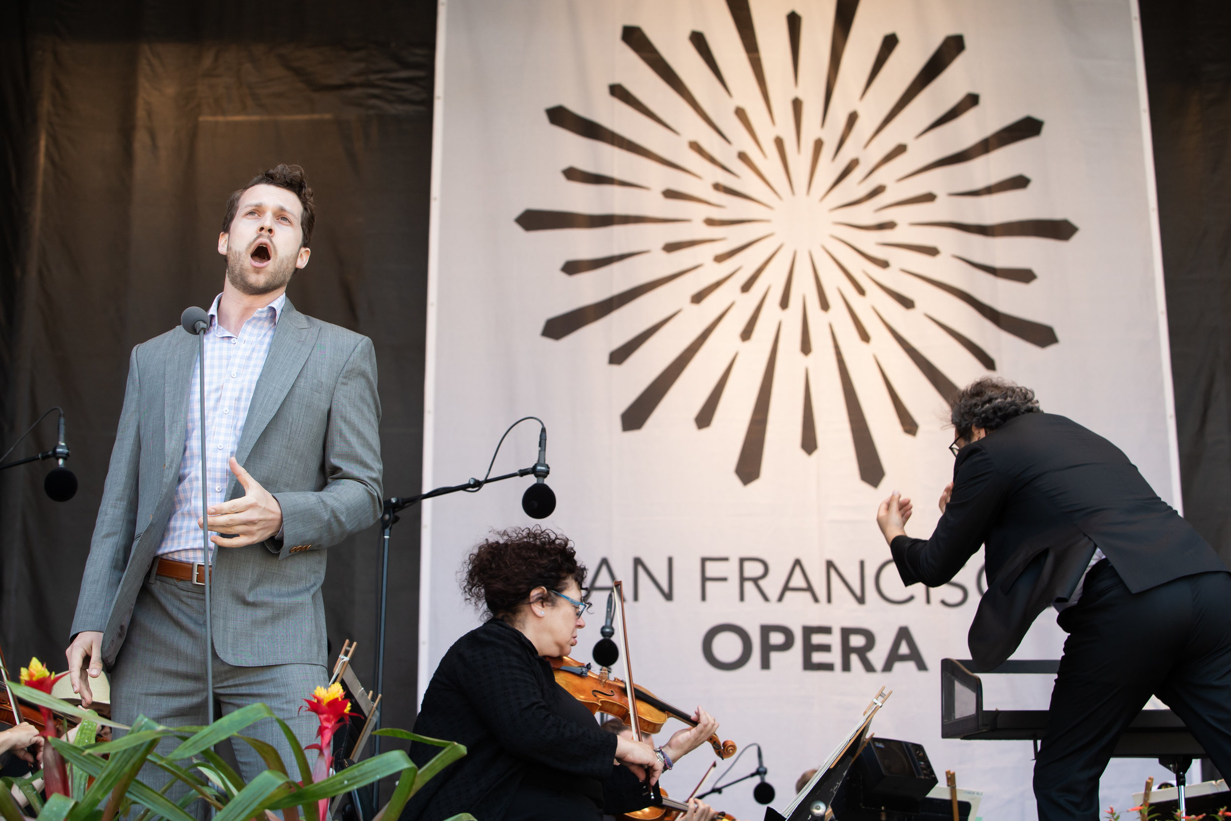 Opera in the Park - San Francisco Opera © Drew Altizer