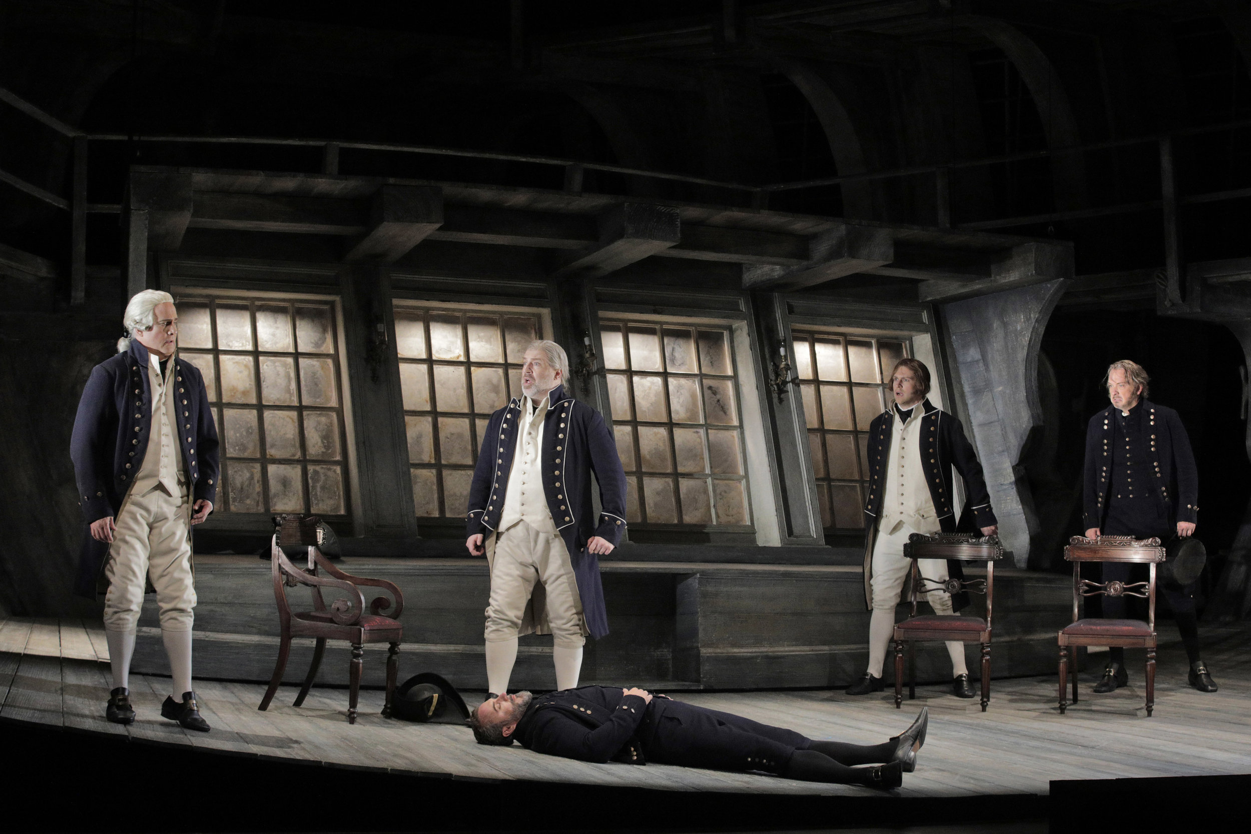 Billy Budd - San Francisco Opera © Cory Weaver