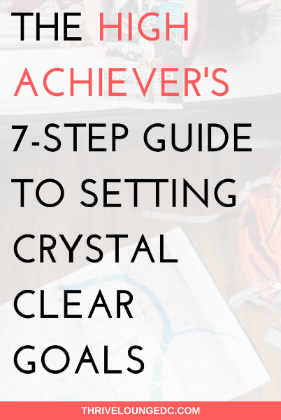 crystal clear goals