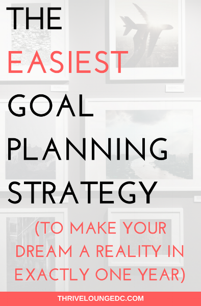 goal planning strategy