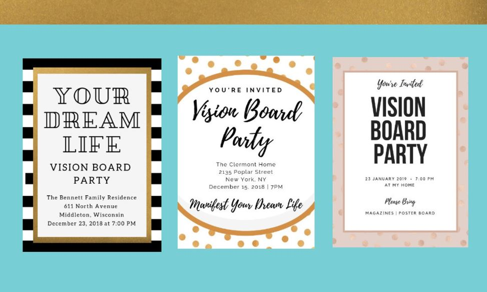 - Customizable Canva Printables by Vision Board Shop
