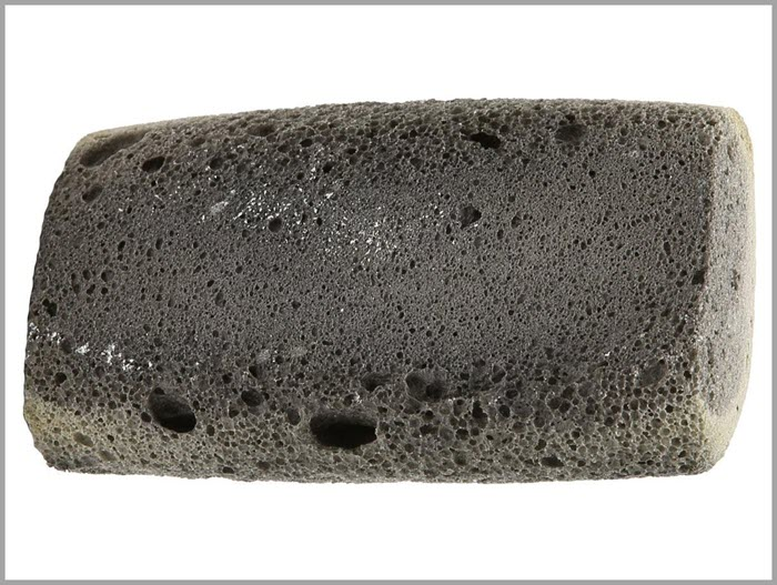 Use a pumice stone to remove pet hair from the interior of your car