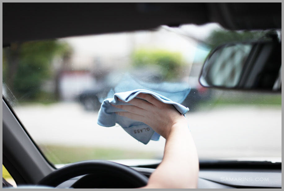 Cleaning the inside of your windshield can be tricky with the wrong method
