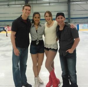 Logan, Lynn, Krista, and Dan