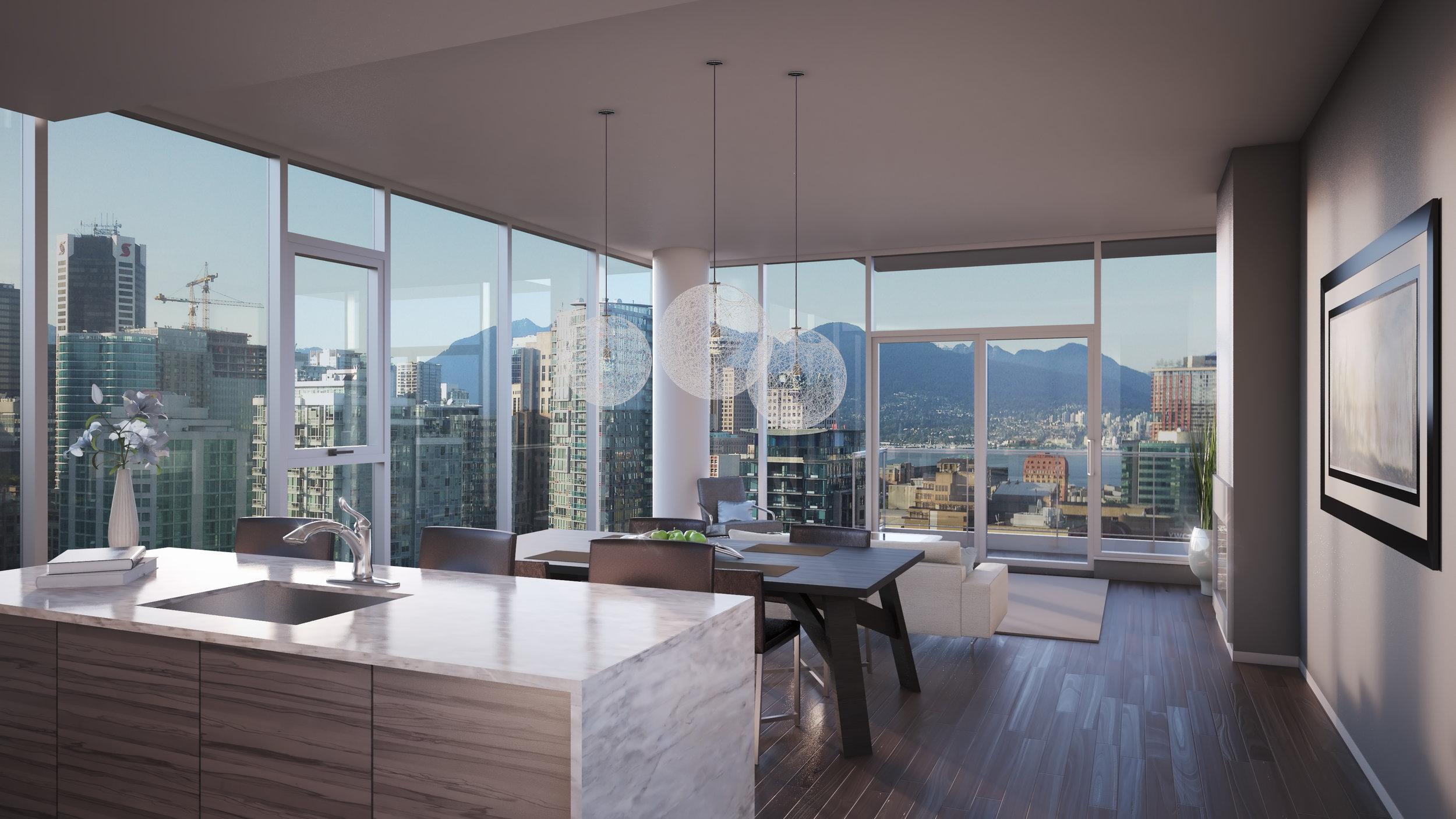 Downtown Vancouver Apartment