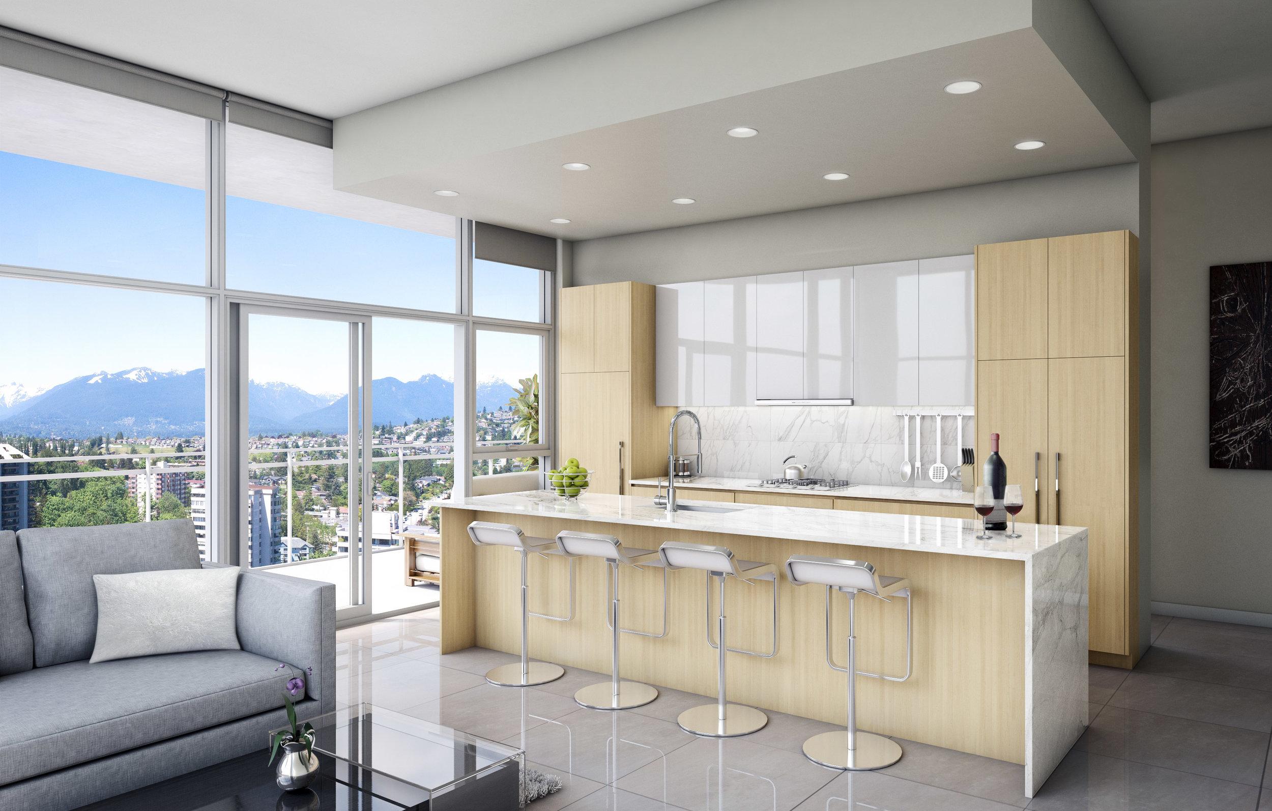 Interior Rendering Kitchen
