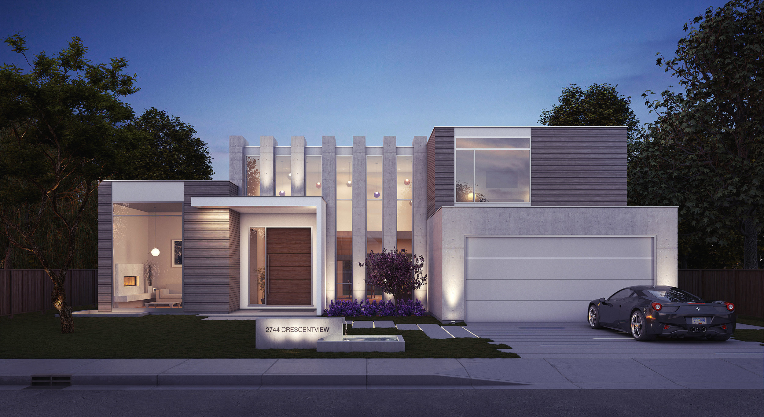 Crescentview West Vancouver House Rendering