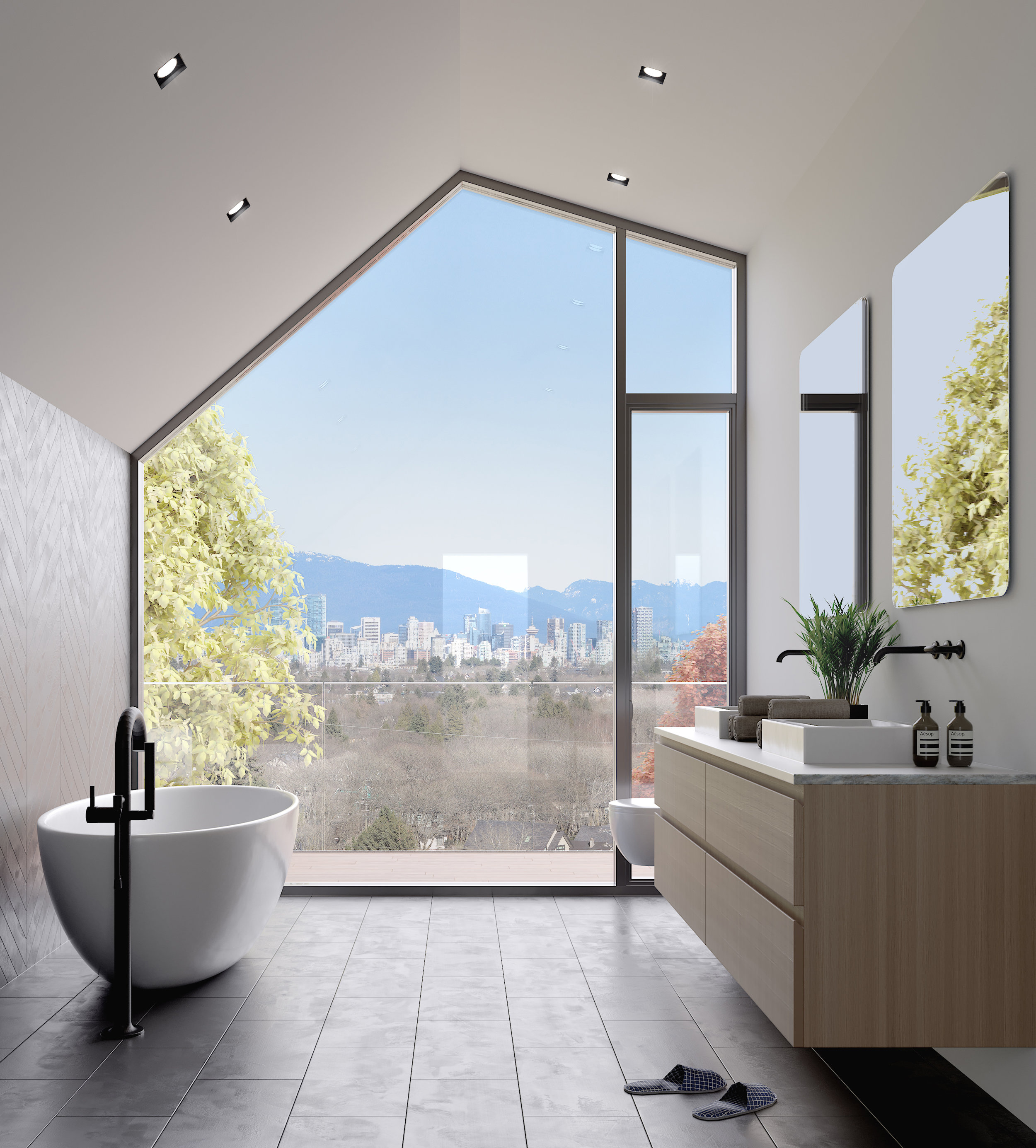 vancouver house rendering collingwood