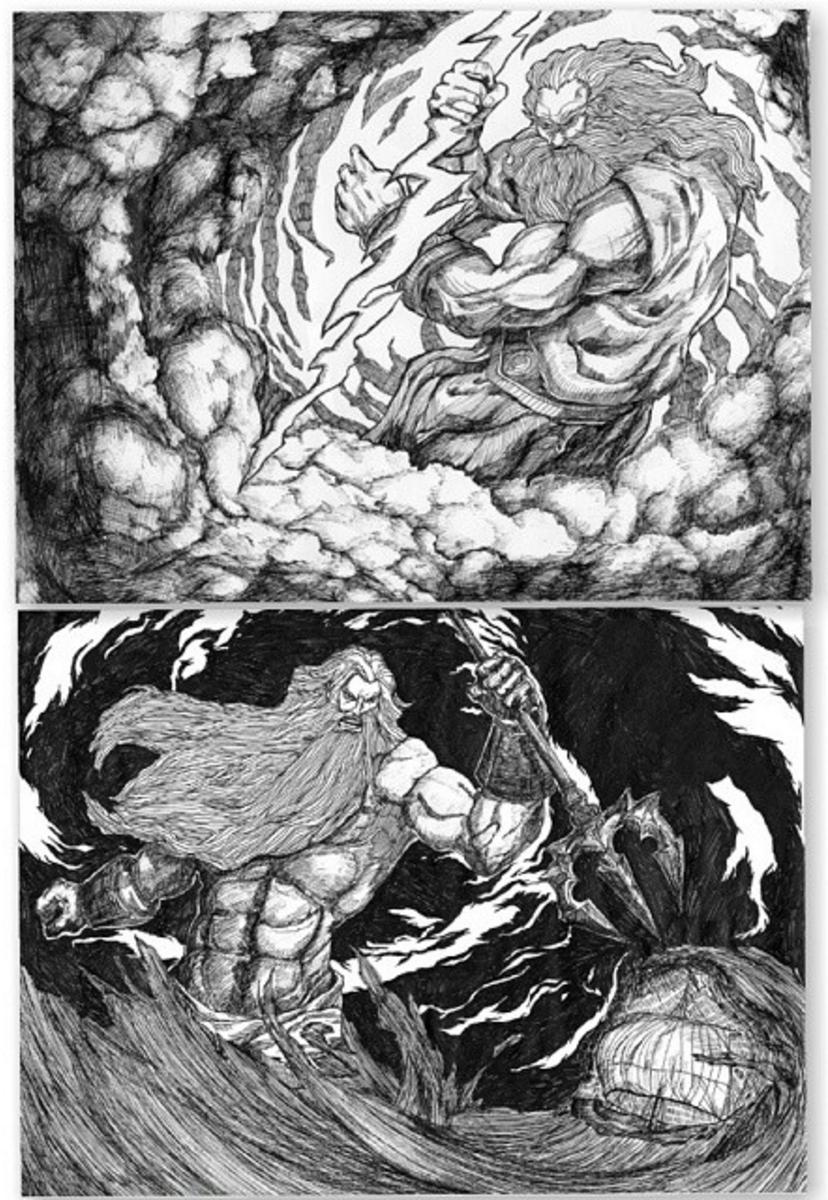 Zeus & Poseidon