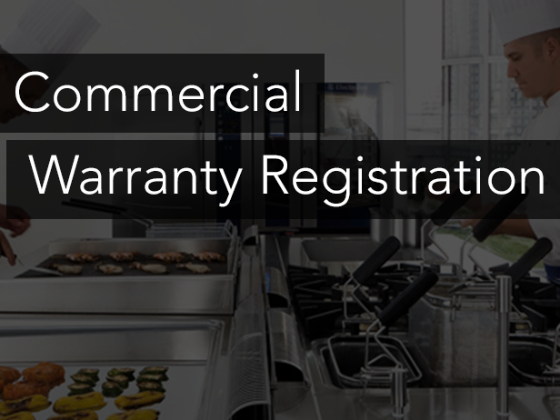 Commercial Warranty Registration
