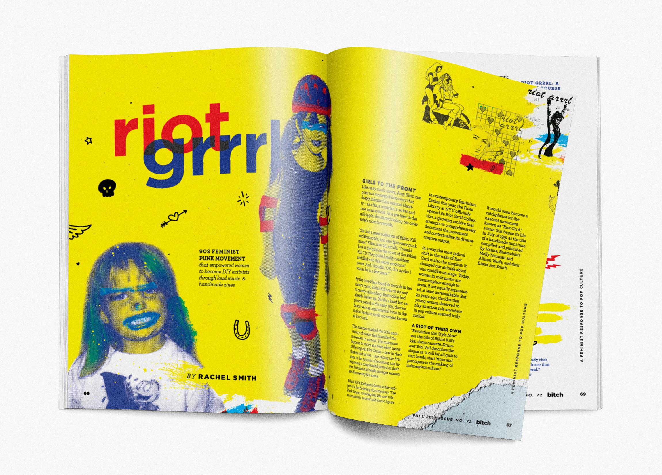 Photorealistic Magazine MockUp-riotgrrrl-onwhite.jpg