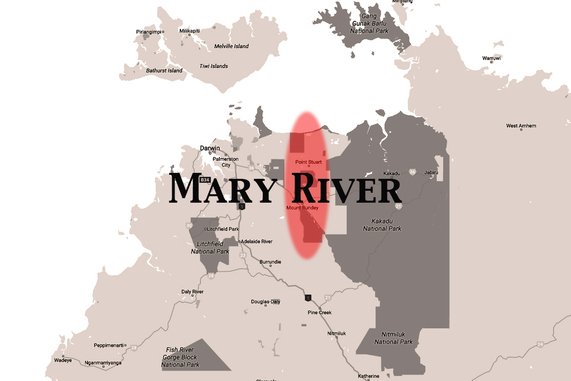 NT map BW Mary River.jpg