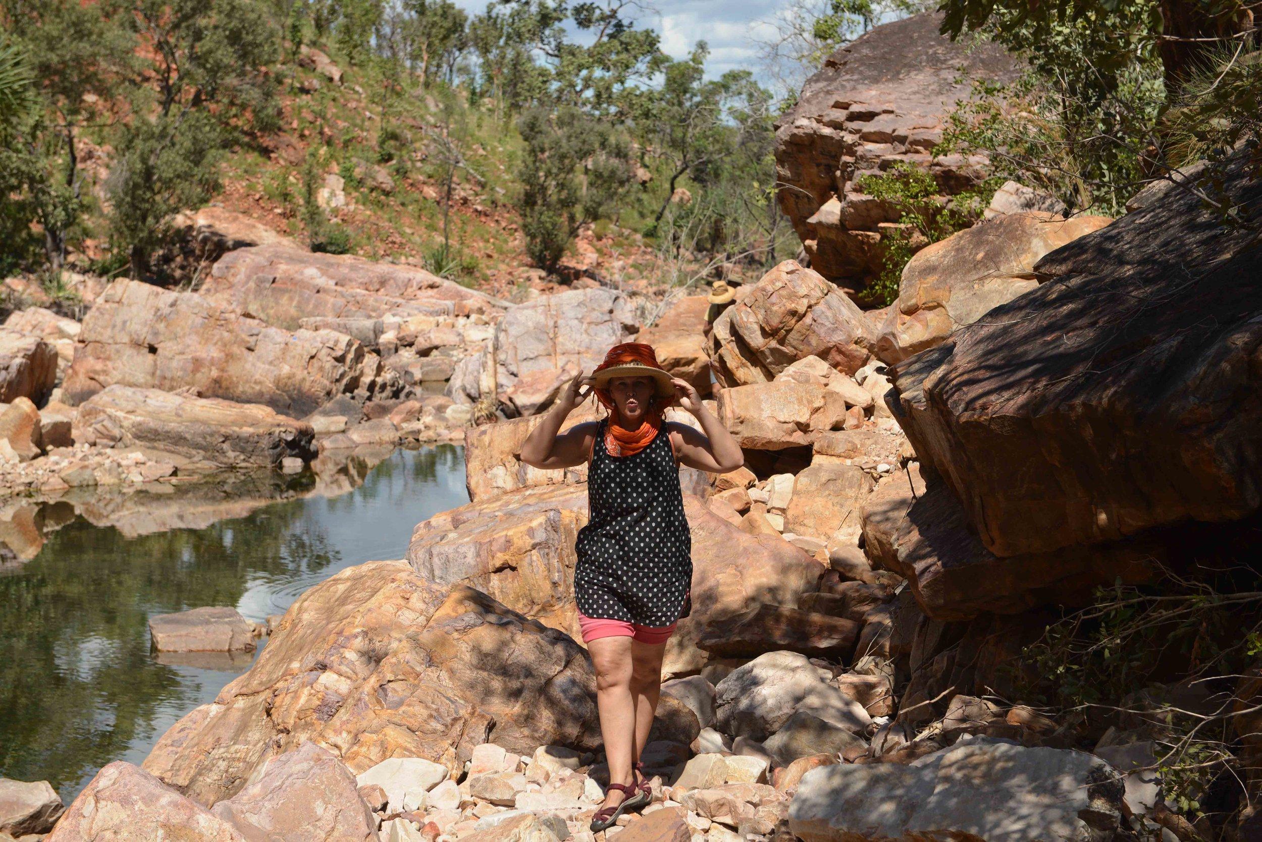 Emma Gorge: Walk up the Gorge