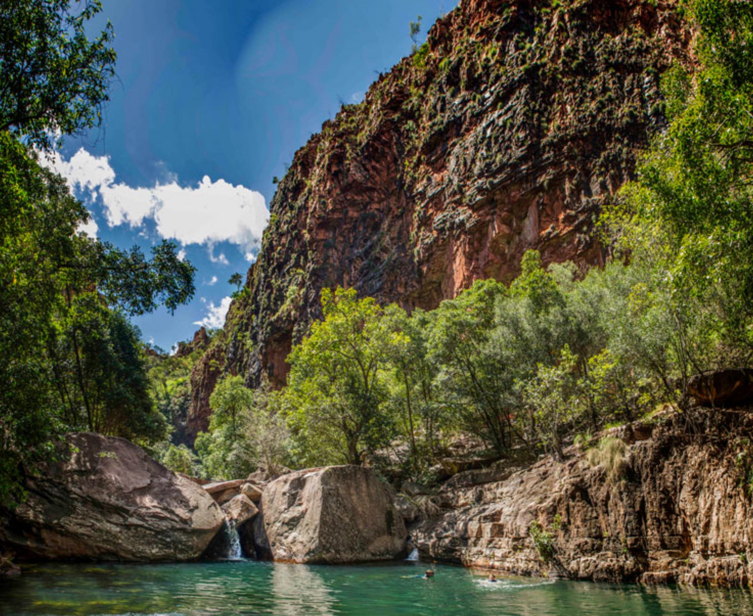 Swimming hole: Emma Gorge