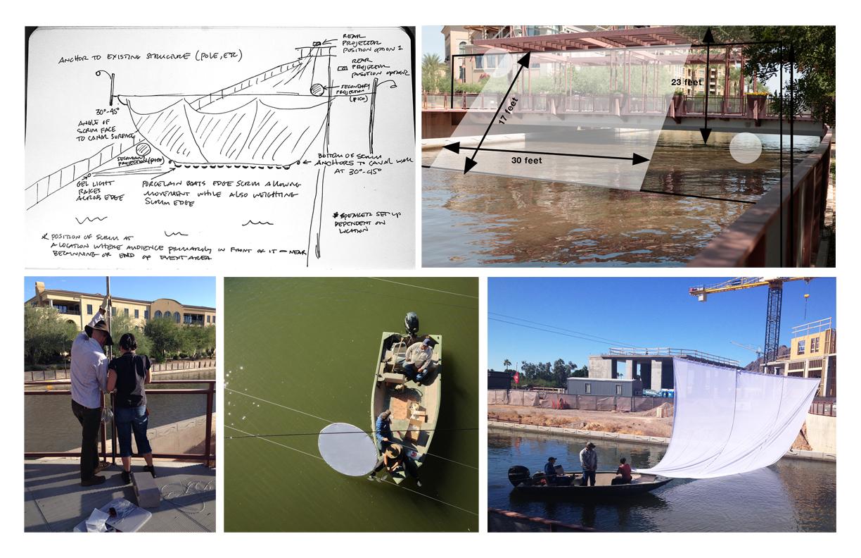 Production at The Arizona Canal.