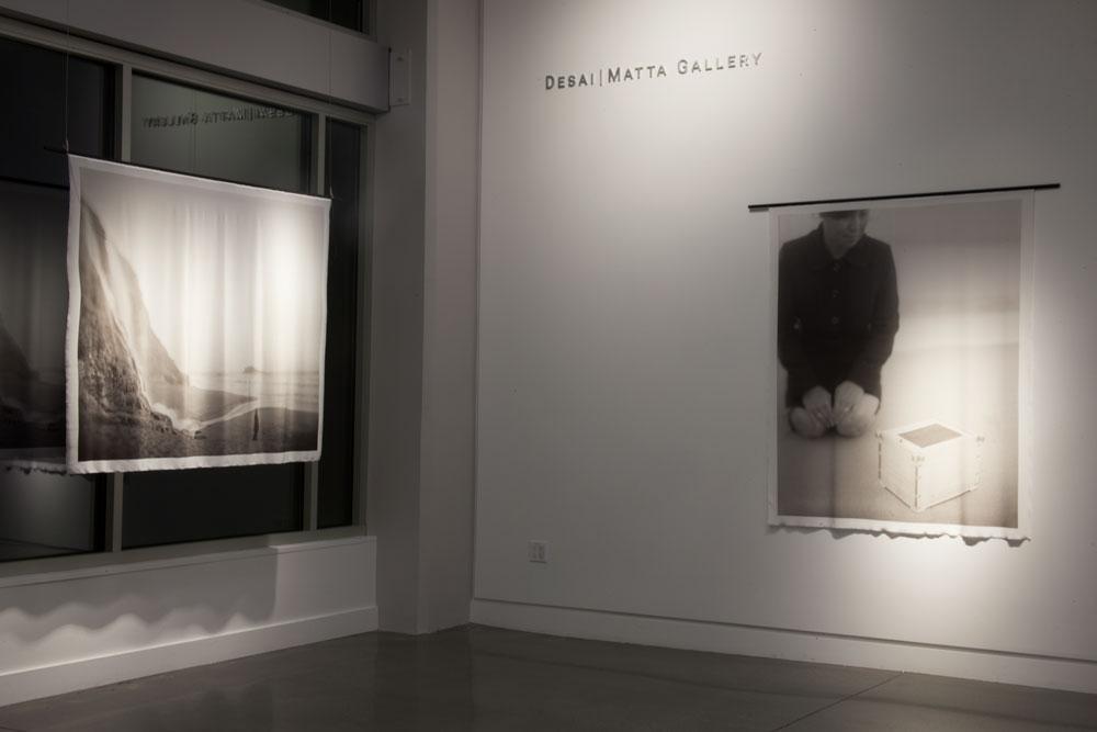 Installation view, Desai | Matta Gallery, San Francisco