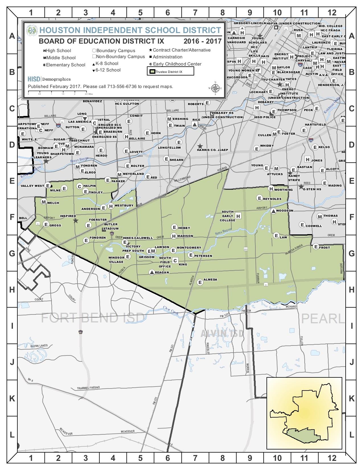 District 9 - Adams, Brown, Monroe
