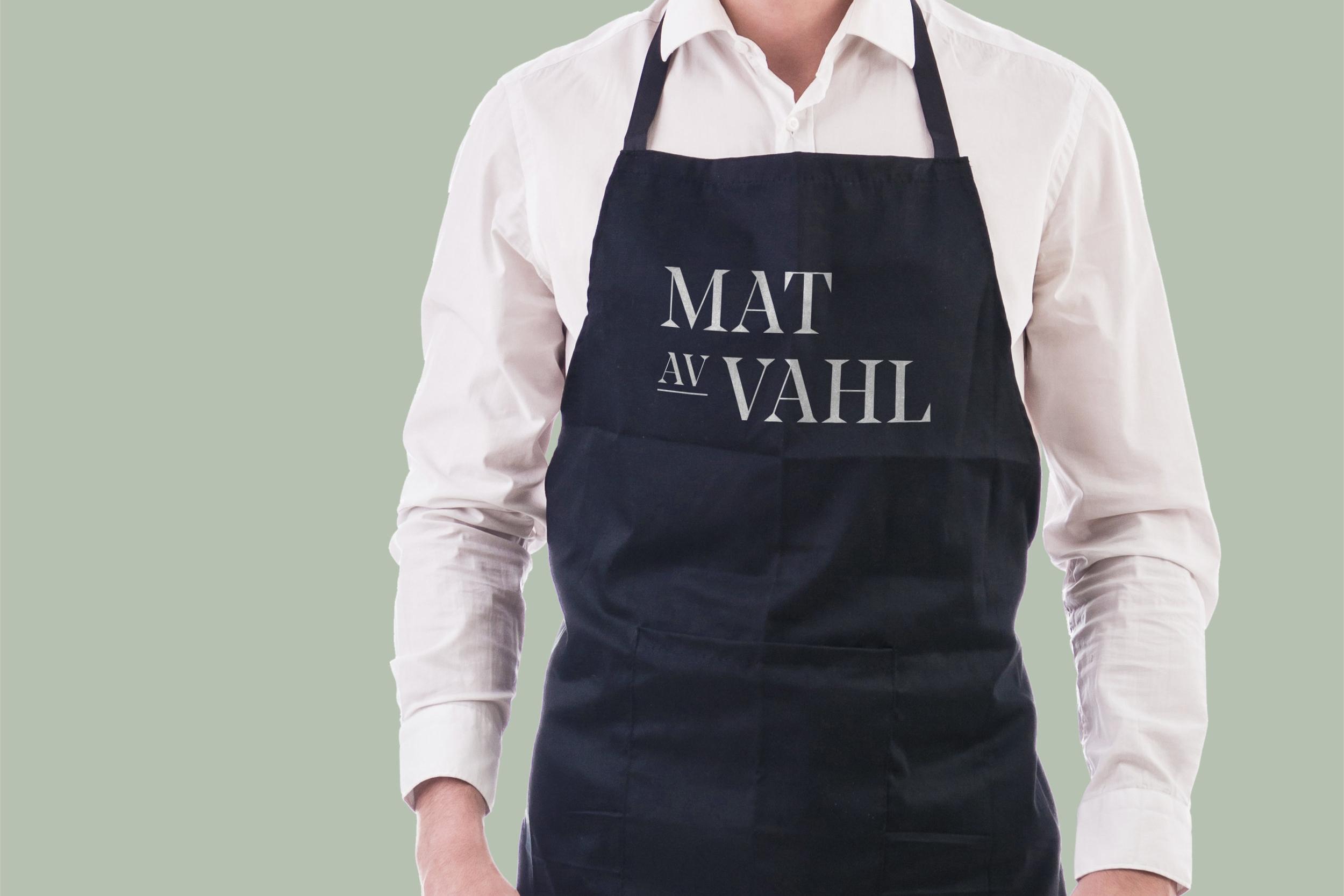 Re-designing Mat av Vahl's visual identity -
