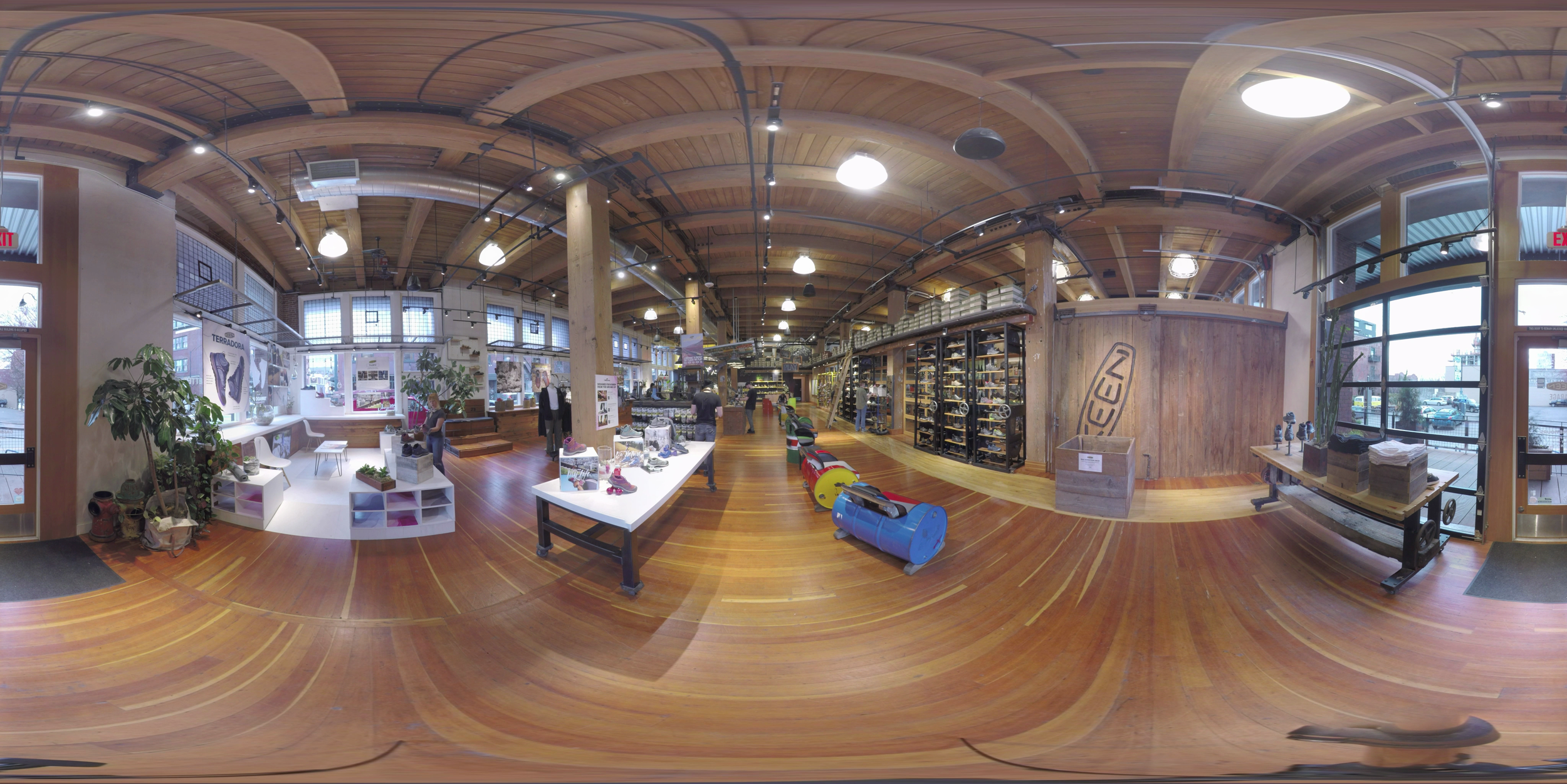 360° of the Keen Garage in downtown Portland