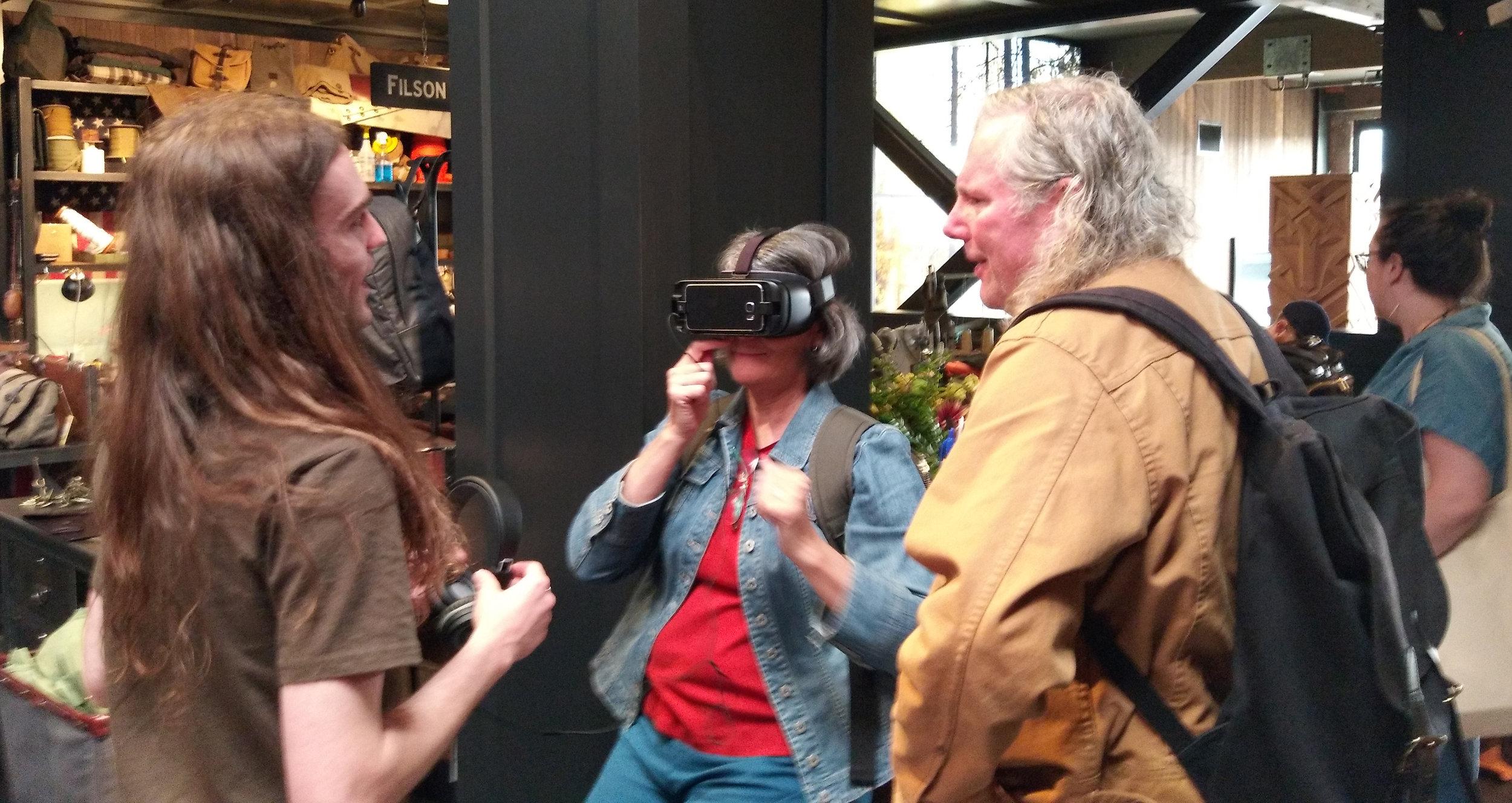 Filson Samsung Gear VR experience