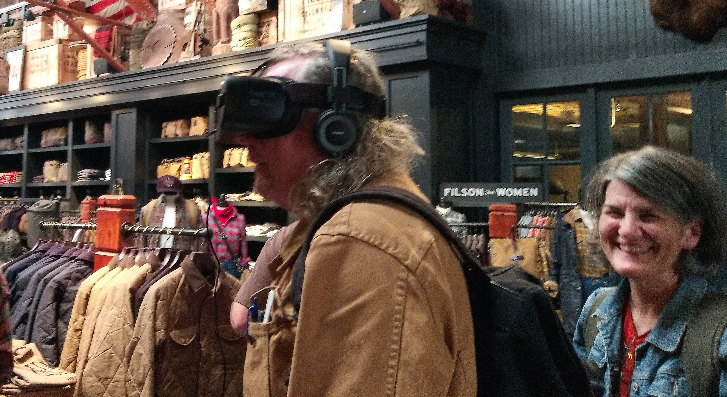 Filson and Samsung Gear VR