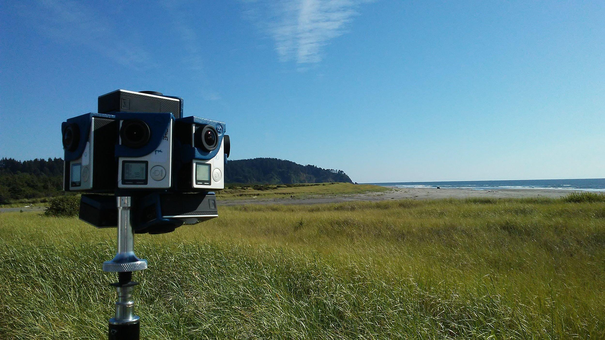 Top360 camera rig