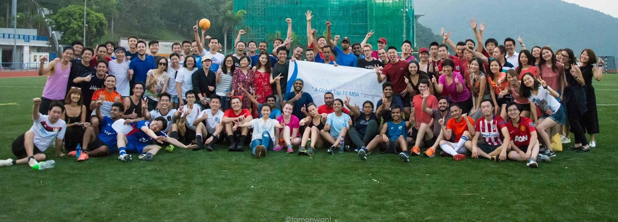 Intake 2017 participating at the inaugural jUSTforKicks International Football Tournament