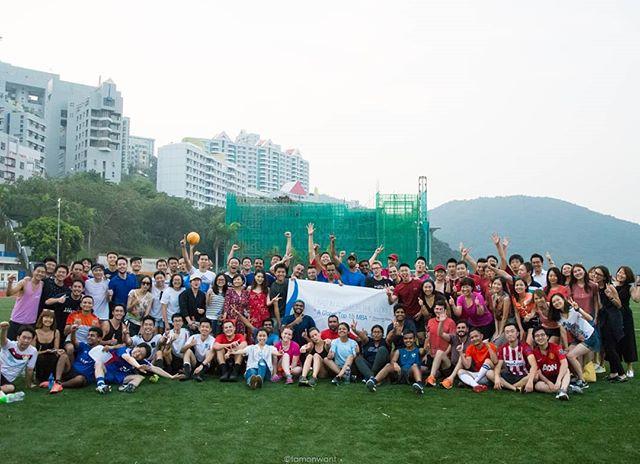 Intake 2017 in jUST for Kick  #mUSThaveMBA #intake2017 #hkustmba #mbalife #studentclub