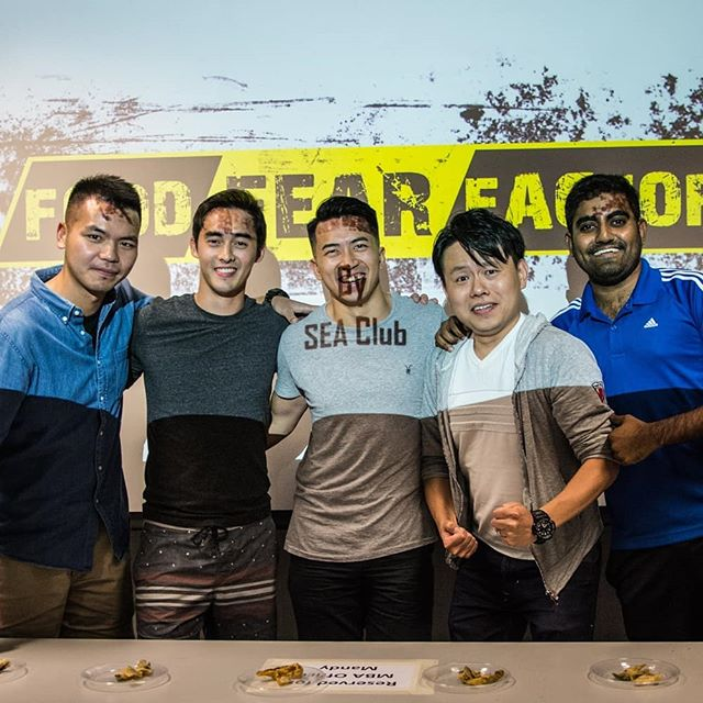 SEA night by South East Asia club known as Food and Fun intensive club....20 Sep 2017  Food fear factor was a good show 😂😂😂 @adamrwebb could confirm