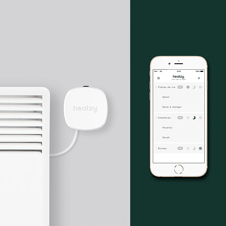Module Heatzy et application iPhone