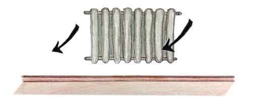 radiateur électrique. 2