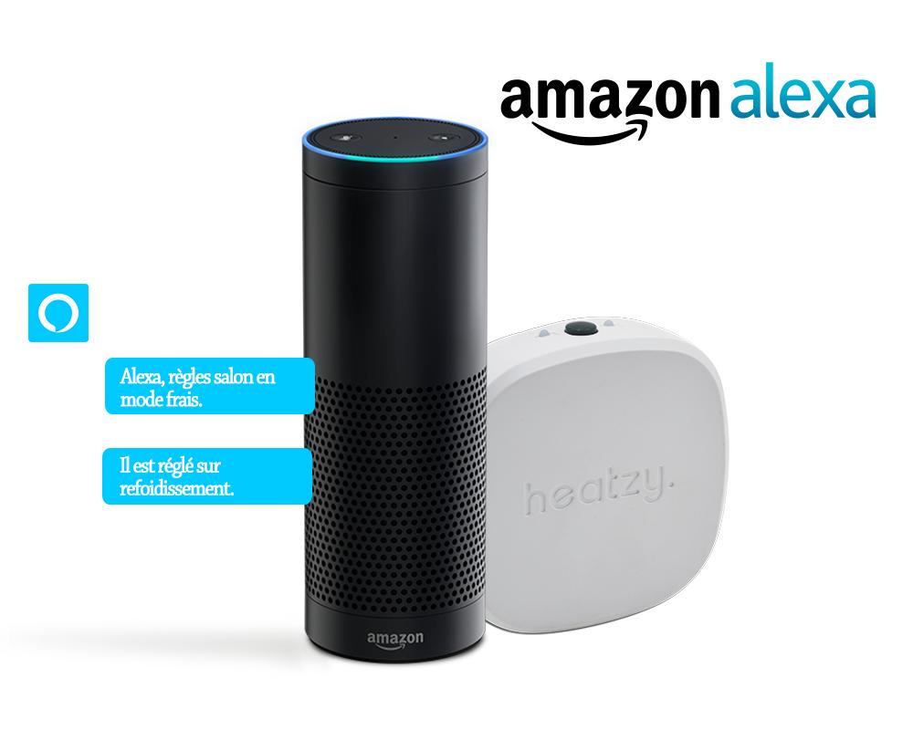 Amazon Alexa Heatzy