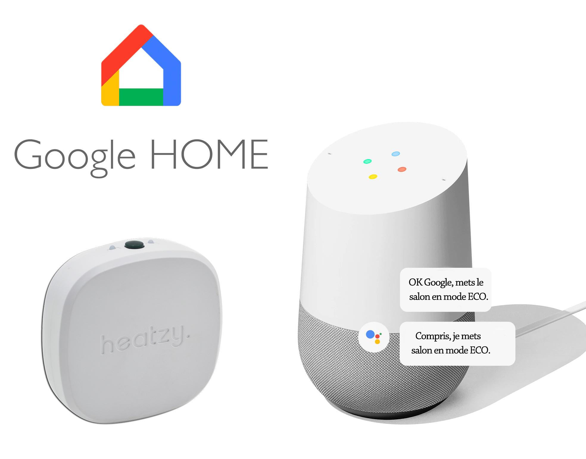 Google Home Heatzy