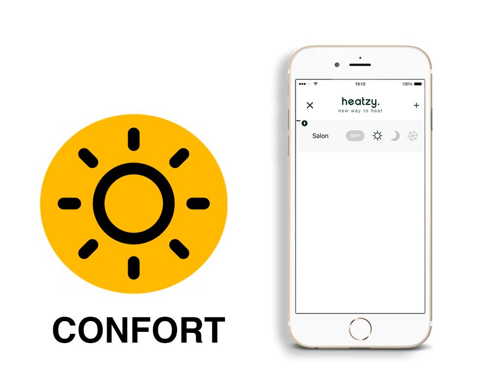 Mode confort